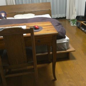 独りダブルベッドに寝る派