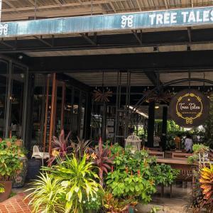 【パタヤ1泊2日旅行④】~「Tree Tales」緑いっぱいのカフェでほっと一息~