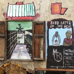 おばあちゃんバリスタ経営のカフェ【Mother Roaster(マザーロースター)】@タラートノイ