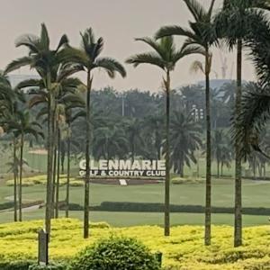 マレーシア生活 休みのゴルフ Glenmarie Golf & Country Club