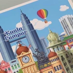 マレーシアからハガキ(Post Card)をだそう その2 ≪マレーシア生活≫