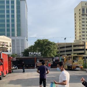 シャーアラムのフードトラック Tapak Urban Street Dining ≪マレーシア生活≫