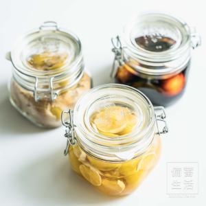 梅シロップ はちみつレモン、スパイス&きび砂糖、醤油漬け…