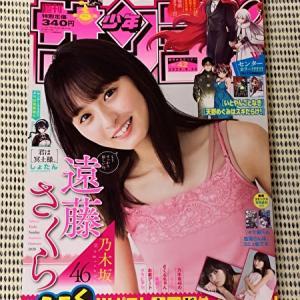 【レビュー】9/16発売「サンデー」に乃木坂46 遠藤さくらが表紙&グラビアに登場
