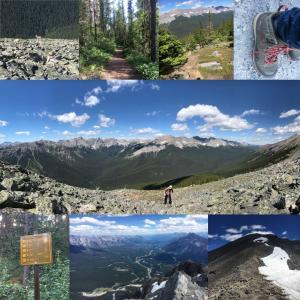 【カナダでのワーキングホリデーを振り返る⑥】7月バンフ:ひたすらハイキング