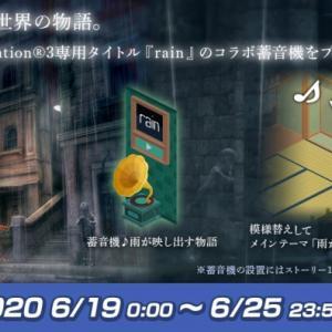 【コラボ】「トロとパズル~どこでもいっしょ~」がPS3用ソフト「rain」とのコラボアイテムを配布