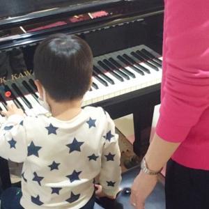 ピアノdeクボタメソッド★数学的センスを磨く!!年中さんのレッスンの様子