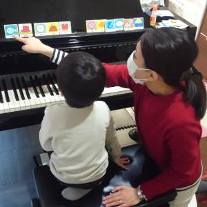 【違いがわかる?!】ピアノdeクボタメソッドの年中さん