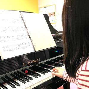 ピアノレッスン基本のキ‼︎【楽譜は目線の少し上】正しい姿勢は集中力アップ!