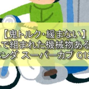 【鬼トルク・緩まない】海外で組まれた機械物あるある【ホンダ スーパーカブ C125】