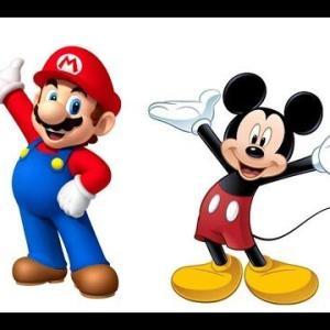 外国「ミッキー!プーさん!」日本「マリオ!ドラえもん!」