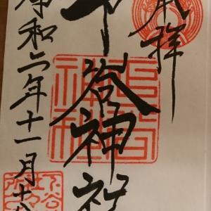 KT参拝205社目。東京上野に御鎮座される都内最古の稲荷神社「下谷神社」のご紹介。横山大観の龍の天井絵が有名。