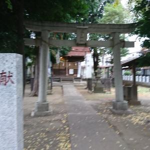 KT参拝211社目。京王線「飛田給」に御鎮座。道生神社の御紹介です。
