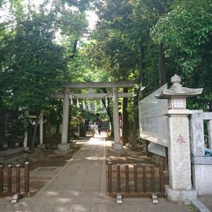 KT参拝285社目 中野区弥生町に鎮座される「神明氷川神社」のご紹介