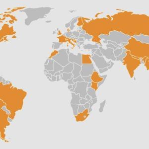 【無料・旅行アプリ】<been>世界地図に色が塗れる!あなたが訪れた国は何ヶ国?旅の記録が楽しくなる!