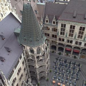 【ドイツ旅行③】ミュンヘン、新市庁舎展望台と観光と美味しかった白ソーセージ