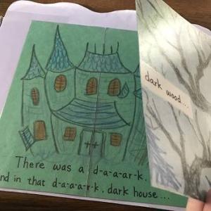 """冠詞 a に慣れる"""" The Dark House"""" の歌詞とお化けが出るクラフト/ ハロウィン"""