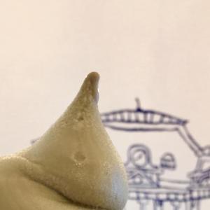 門司港カフェの自家製ソフトクリーム☆うきわ(UKIWA)/北九州市・門司港エリア