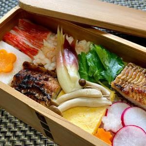 寿司太郎で作る鰻の市松ちらし寿司弁当☆土用の丑の日/毎日弁当