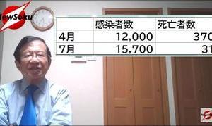 第一弾 データを見れば一目瞭然!これからすべき感染症対策とは? 武田邦彦