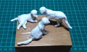 動物フィギュア ネコを作る 8