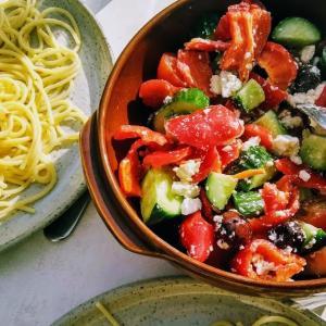 10分でできるギリシャ風サラダ