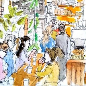 老舗の本屋とジャズカフェ