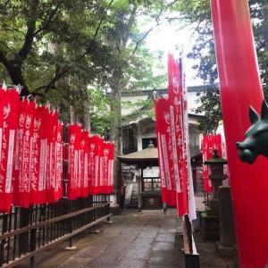 豊川稲荷東京別院で荼枳尼天さんにお参り