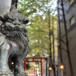 とある人の自由を願い新宿の花園神社に行きました