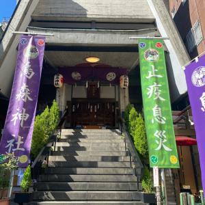 初詣り・烏森神社とオリンピックは神在月の出雲なみ?
