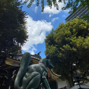 8月の月詣り・豊川稲荷東京別院