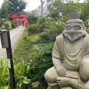 成子天神社の神さまわらわら。