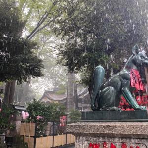 今月の豊川稲荷東京別院・続く不運