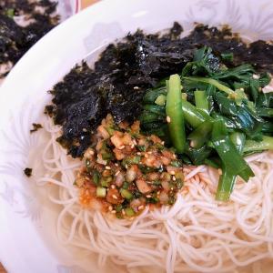お家でつくる本格韓国料理 第4弾! はじめまして!韓国風そうめん『ミョルチグクス』