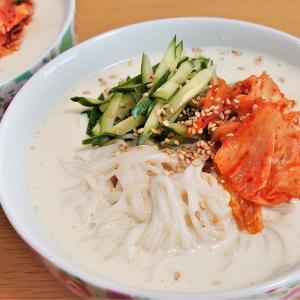 お家でつくる本格韓国料理 第6弾! 豆乳と豆腐で作るヘルシー韓国冷麺『コングクス』