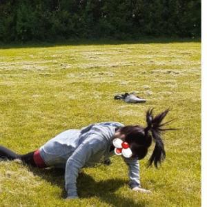 妖怪化したけど楽しかった公園練習