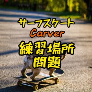 カーバー/Carver/サーフスケート/練習場所について/c7トラックでバンクを攻める