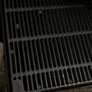子猫が排水口から出られなくなってると。
