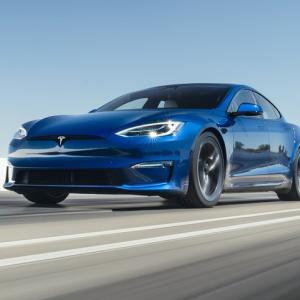 テスラモデルS Plaid、EPAから燃費評価取得と脅威のスピード!