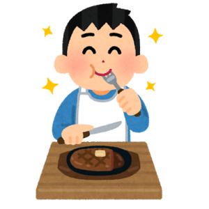 【朗報】ウインナーとステーキ、焼ける!!!