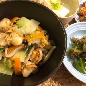 6月9日★近頃…中華料理のおうちご飯にハマっています!!今夜は絶品ベビーホタテ入り中華丼★