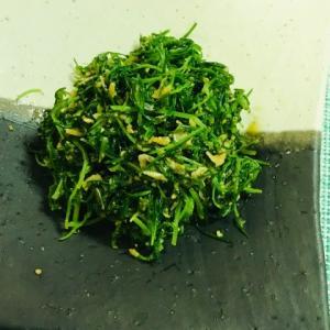 7月11日★野菜の「オカヒジキ」をご存じですか?オカヒジキを使っておひたしを作りました!クセが無くて美味しいです♪豊富な栄養に驚きました★