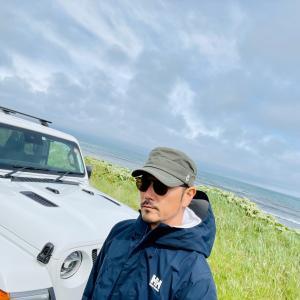 ジープラングラーで北海道一人旅③天塩川の支流へニジ探し