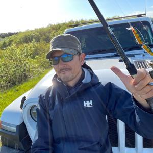 ラングラーで一人旅④猿払イトウ釣り