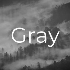 うつになると灰色(グレー)へのこだわりを見せる
