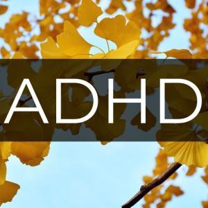 イチョウ(銀杏)はADHDの辛さを和らげる