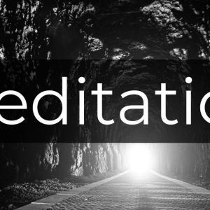 瞑想は希死念慮を鎮める