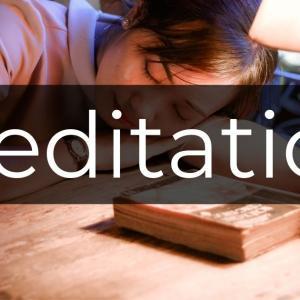 疲れているなら瞑想をしなさい