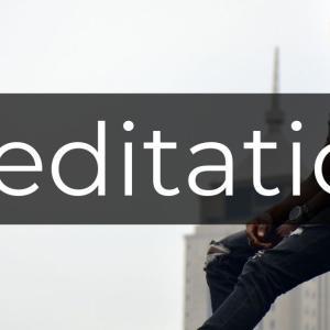 瞑想は心の傷を癒やす