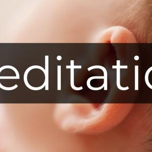 厄介な耳鳴りを瞑想で鎮める